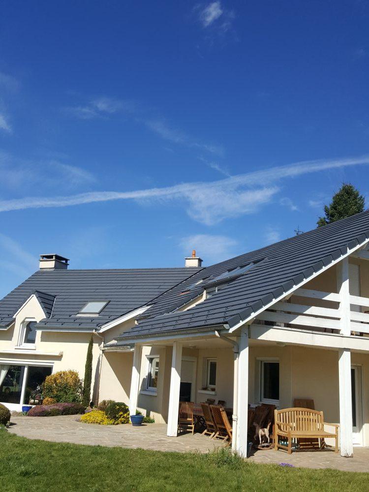 Etanchéité de votre toiture après application hydrofuge